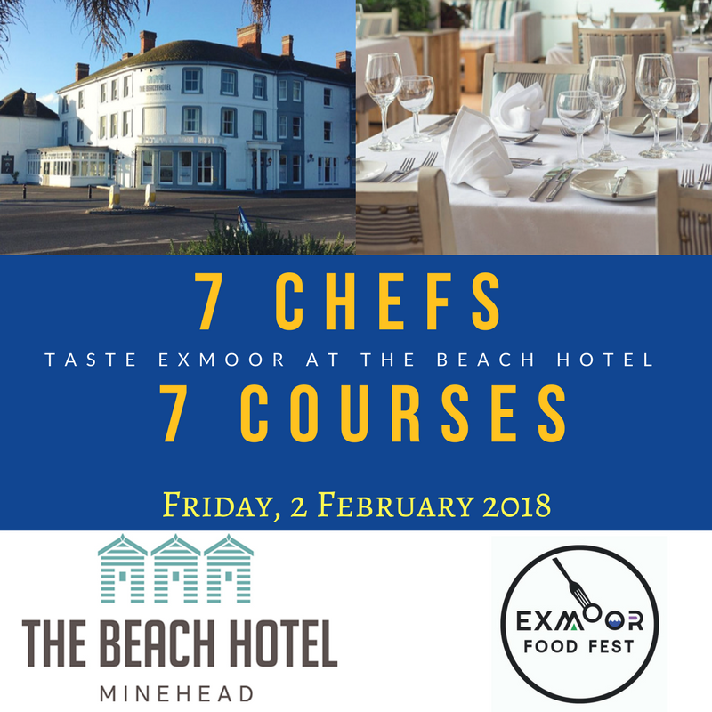 7 Chefs for 7 Courses: Taste Exmoor Dinner at The Beach Hotel
