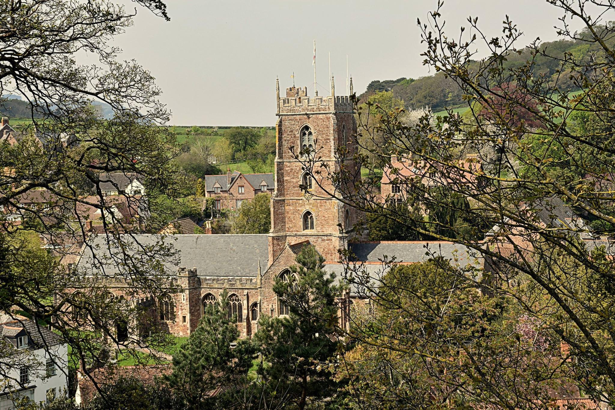 An Easter Walk at Dunster Castle