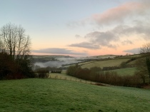 Paul Lewis, mist south of Wheddon Cross